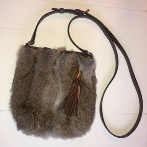 664a675b9882 Michael Kors. Michael Kors Rabbit Fur Crossbody Purse